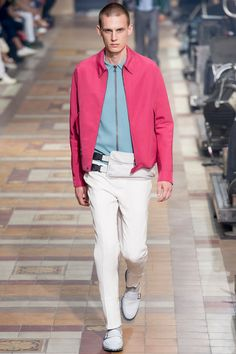 Lanvin Spring 2014 Menswear Collection Slideshow on Style.com
