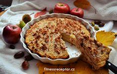 Jablečný jáhelník - Fitnessreceptář.cz - zdravé fitness recepty, zdravý životní styl Pancakes, French Toast, Muffin, Pie, Breakfast, Food, Fitness, Torte, Morning Coffee