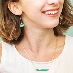 These Rosette turquoise earrings and matching Keely necklace are perfect for everyday wear or fancy occasions! Link in bio.  Every Shop for Freedom purchase changes lives and fights slavery. All items handmade by women affected by sex trafficking and 100% of proceeds directly support efforts to fight human trafficking. You CAN make a difference today.  #endslavery #bethechange #humantrafficking #fairtrade #shopforacause