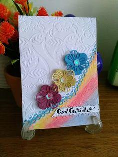 Mi Scrap: con cariño card Blog, Card Making, Scrapbook, Cards, Cardmaking, Card Stock, Blogging, Scrapbooking, Maps