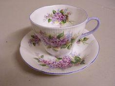 royal albert lilac blossom....love RA designs