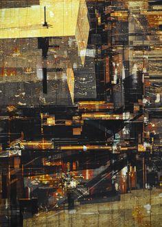 MEGA CITIES by atelier olschinsky, via Behance