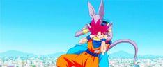 #anime #dragon ball z #goku #bills battle of gords