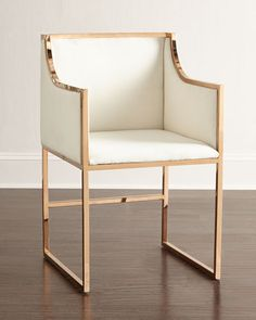 love the style of this chair minimal and sophisticated