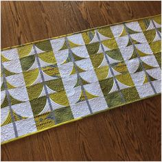 "This year's Holiday gift from us to you! :) A free pattern, ""Mini Trees"", using our new QCR Mini Ruler.You can..."