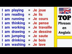 French Lessons, English Lessons, English Words, Learn English, French Expressions, Learn French Beginner, French Flashcards, French Phrases, How To Speak French