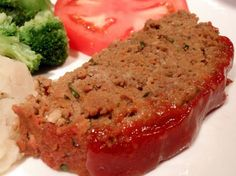 Weight Watchers Points Plus Recipes: Meatloaf - 4 PointsPlus