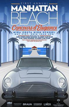 1st Annual Manhattan Beach Concours d' by BoilingPointCreative