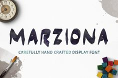 Шрифт Marziona