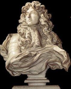 BERNINI Gian Lorenzo - Italian (Naples 1598-1680 Rome) - bust of Louis XIV