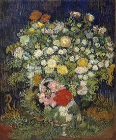 Mélancolies — Vases with Flowers by Vincent Van Gogh