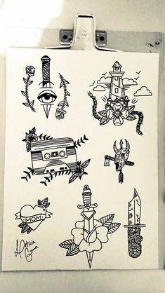 Desenho para tatuagem Draw for tattoo