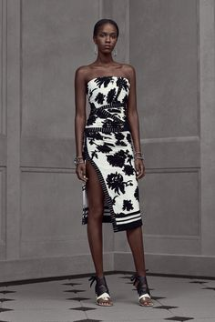 Leila Ndabirabe for Balenciaga Resort 2016