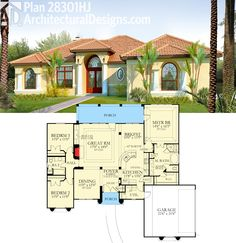 552 the evandale nelson design group house blueprints architectural designs 3 bed southern house plan 28301hj gives you 3 beds with a private master malvernweather Choice Image