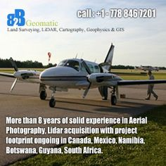 Aerial mapping & Photography for LiDAR mapping - B2B Geomatics Inc