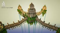 The Angel Sky Temple (Angel Block Society App) and (Schematic Download) Minecraft Project