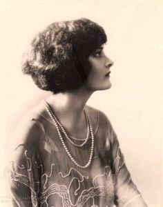 Sylvia Breamer by Charlotte Fairchild, c. 1920