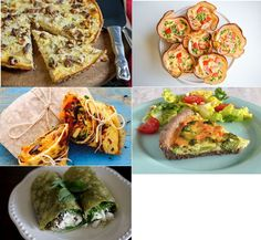 Low FODMAP Quiche & Wraps