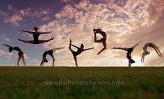#popphotog senior girls gymnastics silhouette composite Pop Photog by Miranda https://www.facebook.com/PopPhotogbyMiranda www.popphotog.com