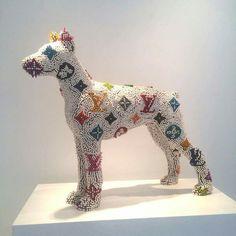 Herb williams.crayon sculptures
