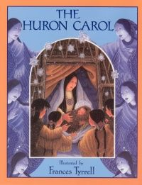 """The Huron Carol Words by Jean de Brébeuf English Lyrics by Jesse Edgar Middleton Set to an Adaptation of the Century French Noel: """"Une Jeune Pucelle"""" (""""A Young Maid"""") Illustrated by Frances Tyrrell Christmas Music Songs, Christmas Books For Kids, Canadian Christmas, Christmas Carol, Huron Carol, Wooden Flute, Nutcracker Christmas, Music Classroom, Jar Gifts"""