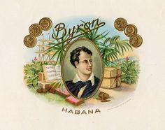 1920s Cuba Byron Cuban Cigar Label
