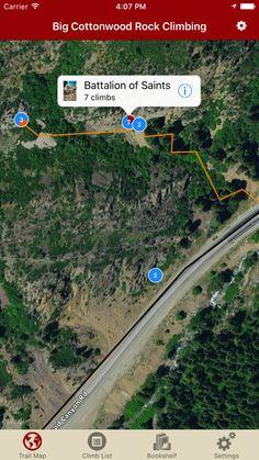 Big Cottonwood just got 50 new climbs, tap your update cloud to check them out!  #bigcottonwoodclimbing #rakkupguidebookupdates #rakkup