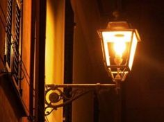 I love lamps on the walls, my child memories are so alive when I watched them in the night.
