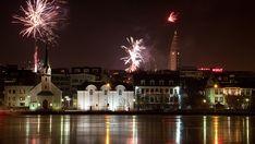 New Years Eve in Reykjavik, Iceland. Happy New Year. New Years Eve Holidays, New Year's Eve 2019, New Years Eve Fireworks, Future Travel, World Traveler, Dream Vacations, Reykjavik Iceland, Norway, Trips