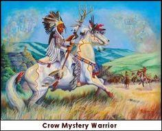 Crow Mystery Warrior by Marcine Quenzer kp