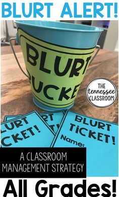This Blurting Out behavior management system is perfect for your elementary classroom. This pack features blurting out strategies and resources to make your classroom management easy to set up. This is great for your chatty class and it will remind your elementary students to raise their hand and not blurt out in class.