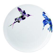 Hummingbird flutter salad plates from Loveramics