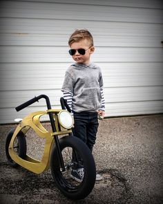 Motocleta Chopper - Hersteller in Chapitas - Hand made - Wooden Bicycle, Wood Bike, Kids Bicycle, Mini Bici, Chopper, Push Bikes, Balance Bike, Kids Ride On, Ride On Toys