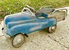 Pedal Cars, Vintage Toys, Metal Working, Tractors, Electric Scooter, Kid Stuff, Kids, Hot, Funny