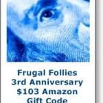 Bloggers Wanted: Sign Up for Frugal Follies 3rd Anniversary Event!