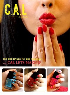 Buy your Favorite #NailPaint from Cal Nails... Buy 1 and get 50 % off on 2nd order.. Lets Make up..