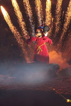 Fantasmic. I have chills just thinking about it.