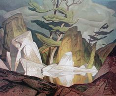 Alfred Joseph Casson,May 1898 – February I have jsut discovered this artist, and I think he is amazing. A member of the Canadian group of artists known as the Group of Seven. Tom Thomson, Emily Carr, Group Of Seven Artists, Group Of Seven Paintings, Canadian Painters, Canadian Artists, Landscape Art, Landscape Paintings, Landscapes