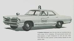 1965 Pontiac police car