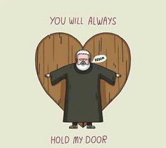 #Hodor #HoldTheDoor