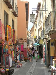 Granada, Spain- I went shopping here!
