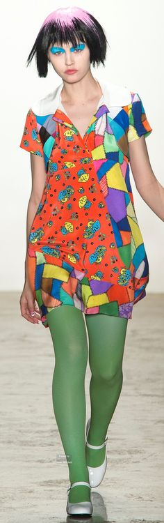 Jeremy Scott Collections Fall Winter 2015-16 collection