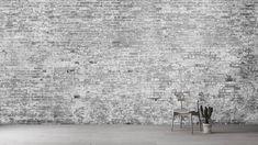 Attic | Trompe L'oeil Brick Wallcovering | Resource Furniture Resource Furniture, Attic, Cover Design, Shag Rug, Norway, Brick, Interior Design, Architecture, Wallpaper