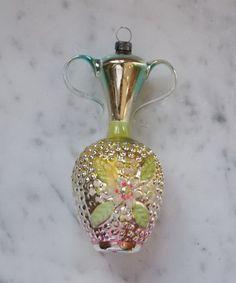 █   CB-Schmuck - Seltene  Vase zum Hängen um 1920   █      (# 2845)