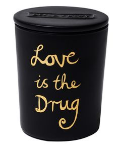 Bella Freud's Love is the Drug scented candle sets the tone for romance with its heady cocktail of sweet and sensual notes.