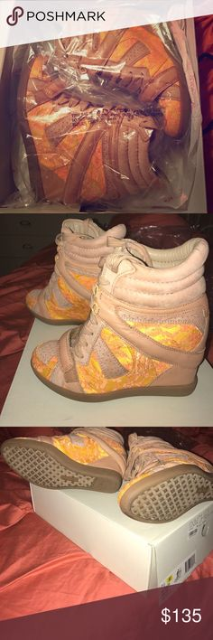 Rachel Roy Nayome sneaker wedges Like new in original boxing/packaging. Size 7.5, fits true to size. Worn once! Rachel Roy Shoes Wedges