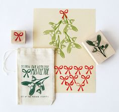 I'm getting excited for Christmas already just looking at this super cute stamp set. By Yellow Owl Workshop.