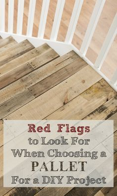 When using pallets in craft and do it yourself projects, you may want to watch out for these possible contaminants related to the different types of wood used to make pallets... View the slideshow ...