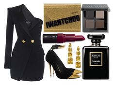 """""""street style"""" by sisaez ❤ liked on Polyvore featuring Jimmy Choo, Bobbi Brown Cosmetics, Chanel and Alex Soldier"""