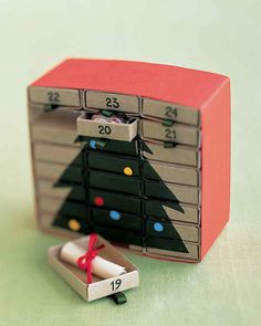 M Is for Matchbox Advent Calendar